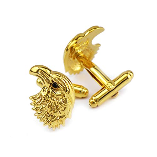 Ubestlove DIY Eagle Cufflinks Brother Cufflinks Copper Cuff Links