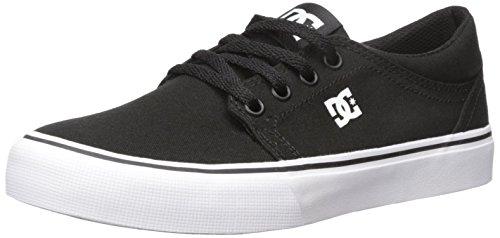 DC Trase TX-Shoes For Men, Zapatillas de Skateboard Hombre, Black White, 42.5 EU