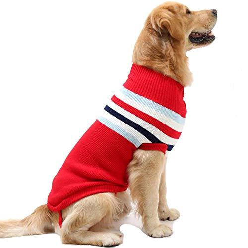 Hundepullover für den Winter, groß, warm, Tierkleidung für Weihnachten