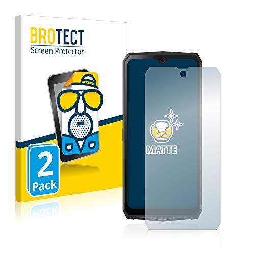 BROTECT 2X Entspiegelungs-Schutzfolie kompatibel mit Blackview BV9100 Bildschirmschutz-Folie Matt, Anti-Reflex, Anti-Fingerprint