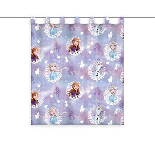Herding Disney's Die Eiskönigin 2 Vorhangschal, Polyester, Mehrfarbig, 140 x 160 cm