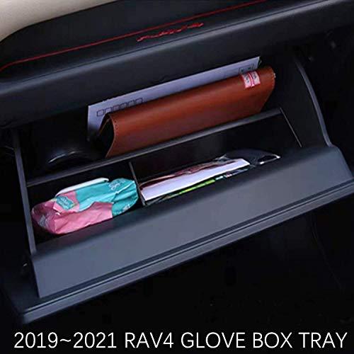 JOJOMARK for 2019 2020 2021 Toyota RAV4 Accessories Glove Box Organizer