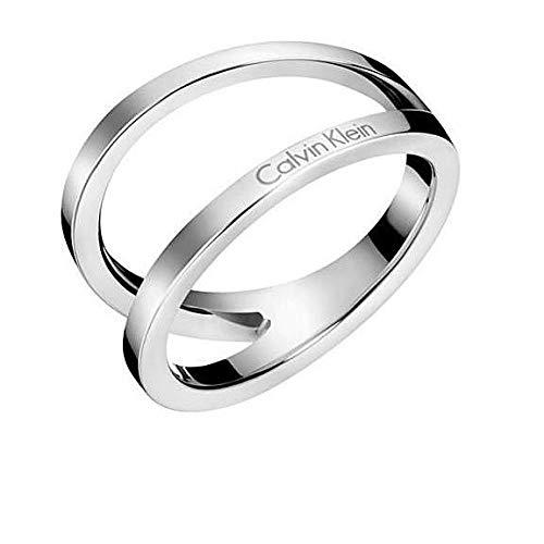 Calvin Klein - Anillo para mujer joyas Outline talla 14 Oferta Trendy cód. KJ6VMR000107