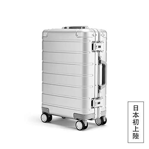 Xiaomi(シャオミ) アルミニウムマグネシウム合金製 スーツケース 超軽量 TSAロック付 8輪 多段階調節 機内持込 旅行出張 1年保証 …