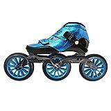 Speed Inline Skates 3*125mm WheelsRoller SkatesProfessional Racing Skating Skates for Kids Adult