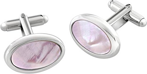 Duncan Walton Pink Sirocco Essential Mother of Pearl boutons de manchette de