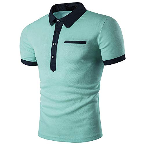 HUAMIN Mens Sunflower Print Lapel Long Sleeve Shirt-Gentleman Cotton Casual Long Sleeve Shirts