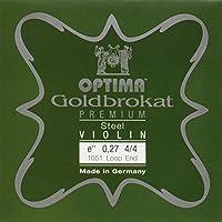ゴールドブロカット プレミアム バイオリンE線 (0.27ループエンド)