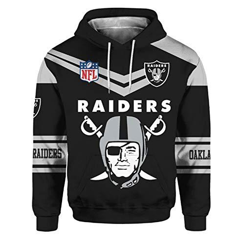 domorebest NFL Baseball Oakland Raiders Hoodies Männer/Frauen Lose Beiläufige Kapuzenpulli Langarm Pullover Hoodies