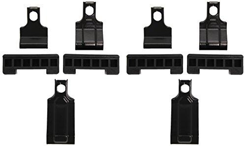 Thule 141637 Kit de Ajuste Personalizado para Montar Techo vehículos sin Puntos de conexión para portaequipajes ni Barras de Serie, Set de 4