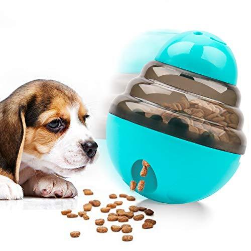 FayTun IQ Leckerli-Ball, interaktiver Futterspender, Hundespielzeug, lustiger und interaktiver Hunde-Snack-Spender, Tumbler, Futterspender für Haustiere…