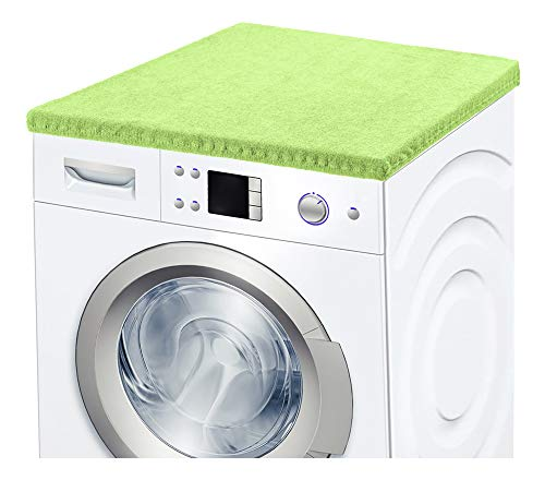 Ladeheid Waschmaschinenbezug Frotteebezug 50x60 cm (Hellgrün-2)