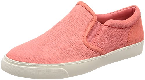 Clarks Damen Glove Puppet Slipper, Orange (Coral Nubuck), 38 EU