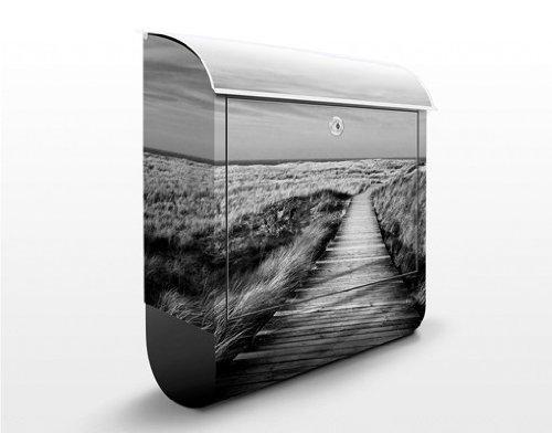 Preisvergleich Produktbild Briefkasten mit Zeitungsrolle Dünenweg auf Sylt II 46cm x 39cm