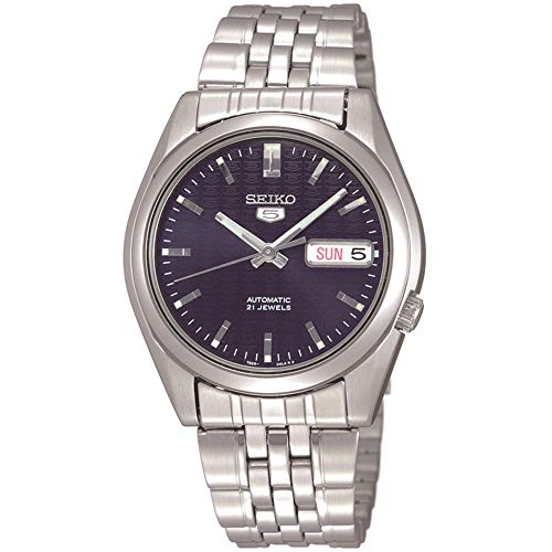 Seiko Men's SNK357 Automatic Stainless Steel Dress Watch