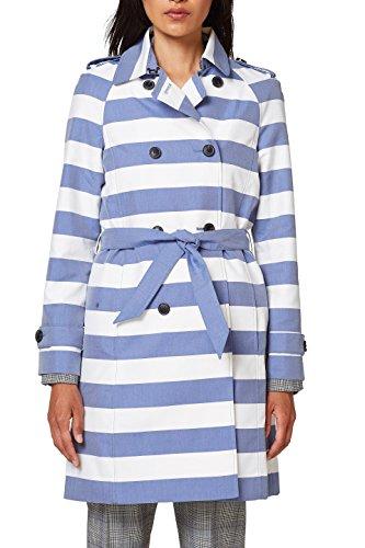 ESPRIT Collection 018eo1g017 Abrigo, Azul (Ink 415), 34 (Talla del Fabricante: 32) para Mujer