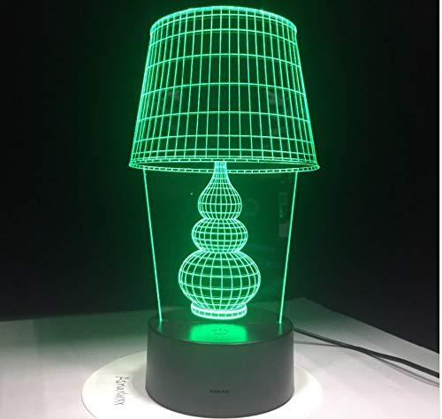 Cadeau Saint Valentin Lampe De Bureau À Led Avec Bouton Tactile 3D Lampe Usb 3D Led Veilleuse En Tant Que Décoration De Maison Art Lumières 5 V Pour Ordinateur Portable Pc Power