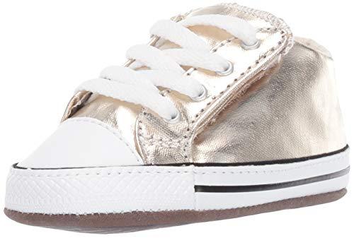 Converse Babyschuhe CTAS CRIBSTER MID 866037C Light Gold, Größe:17 EU