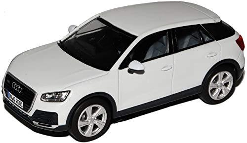 Audi Q2 1:43 Gletscherweiss