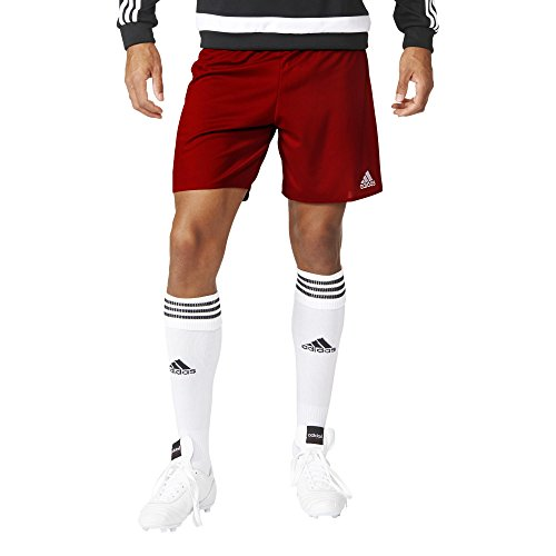 adidas Parma 16 SHO Sport Shorts, Hombre, Power Red/White, M