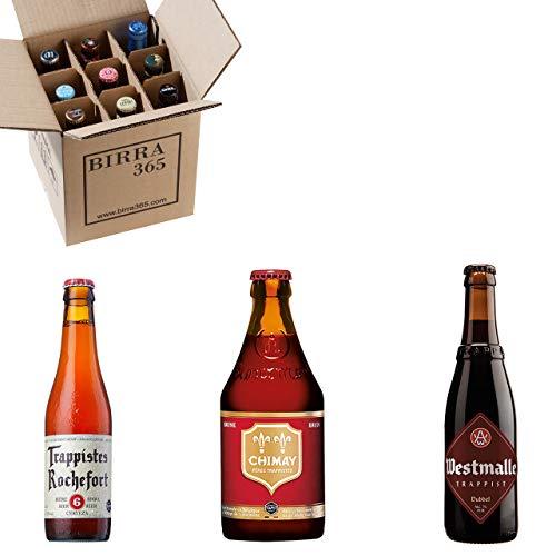 Las mejores cervezas trapenses en una caja de degustación de 9 cervezas. Una cuidada selección para descubrir estas cervezas de abadía tan míticas.