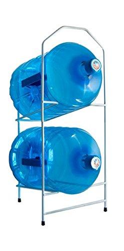 Desconocido Botellero para 2 botellones de Agua de 20 litros - Blanco