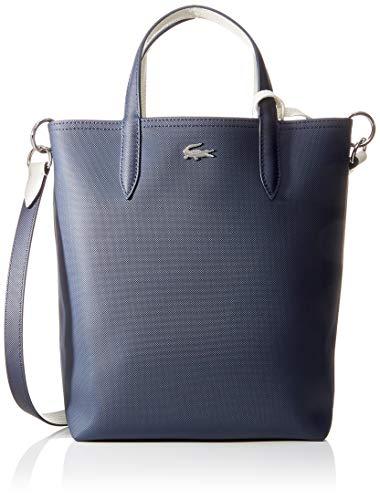 Lacoste Damen NF2991AA Einkaufstasche, Schwarz (Dark Sapphire Mllw), Einheitsgröße