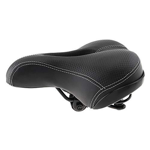 sillin de Bicicleta Asiento de Bicicleta Ancho Espesar sillín de Bicicleta Asiento Bisicetta Asento Sponge Soft Sillín de BicicletaMTBPad