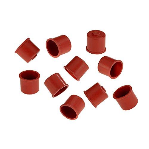 Westmark Süßmostkappen, Für 0,7-1 Liter Flaschen, 10-teilig, Gummi, Rot, 40482251
