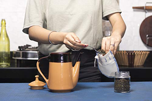 Nut Milk Bags for Straining from Organic Cotton - Tea Strainer - Cold Brew Filter - Coffee Strainer - Cold Brew Coffee… |