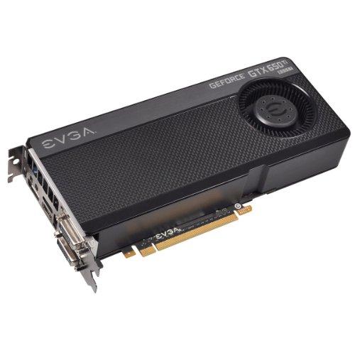 EVGA GeForce GTX 650 Ti Boost Grafikkarte (PCI-e, 2GB GDDR5 Speicher, DVI, 1 GPU)