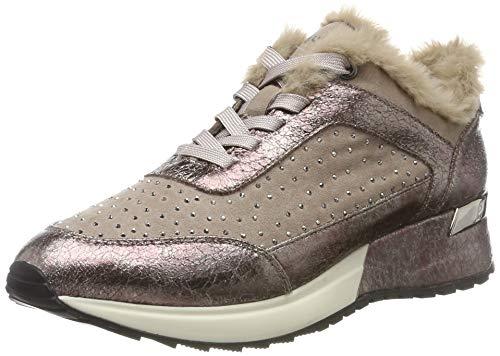 bugatti Damen 411772015064 Sneaker, Pink (Rose/Metallic 3490), 40 EU
