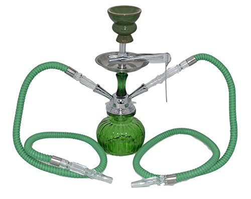 SHISHAS Smoking Hookah Pipes 1 o 2 o 3 Manguera Small Medium Large Adicional...