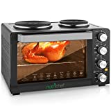 30 Quarts Kitchen Convection Oven - 1400 Watt Countertop Turbo,...