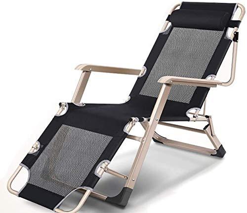 DFVV Tumbonas Tumbonas sillas de Playa al Aire Libre de Descanso for Heavy, jardín al Aire Libre Beach Cubierta 200 kg Soporte Tumbona