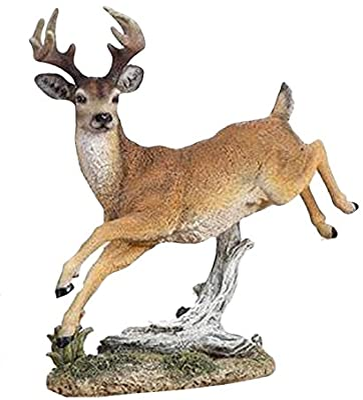 Napco Leaping Deer Figurine