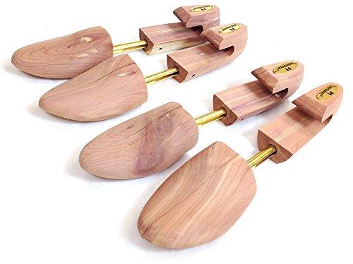 삼나무 요소 조합 삼나무 신발 나무 - 2 팩 (큰)