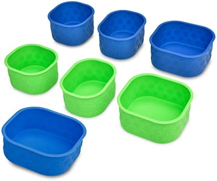 LunchBots Silicone Bento Cups Set Accessories Designed to Fit in LunchBots Medium and Large product image