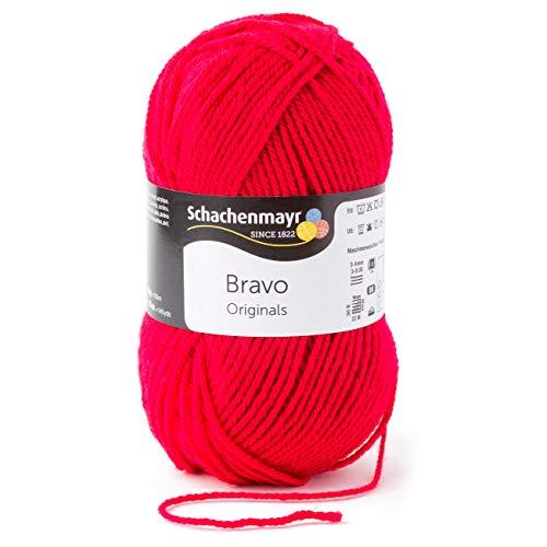 Schachenmayr Handstrickgarne Bravo, 50G Cherry