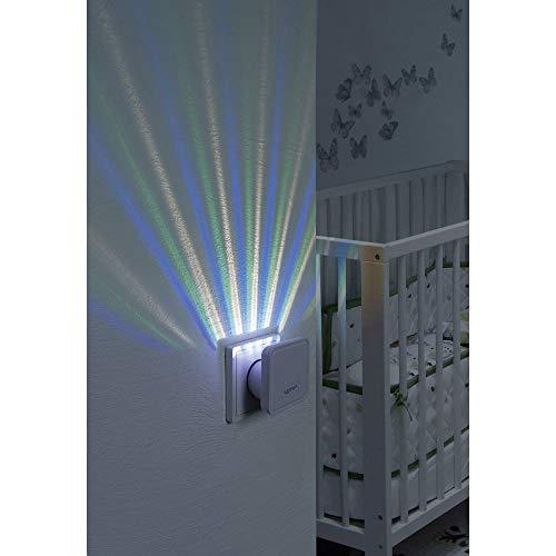 Veilleuse Sygonix Lucca 23620S LED intégrée Puissance: 0.6 W RVB N/A
