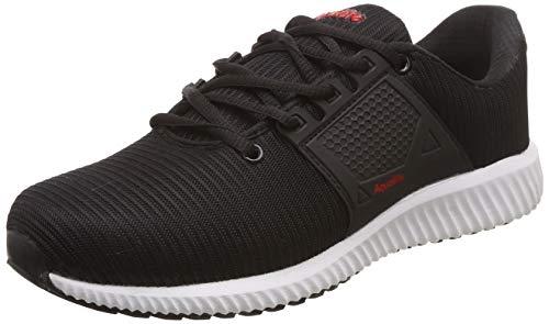 Aqualite Men's Black/Red Running Shoes-7 UK/India (41 EU) (SGA-10)