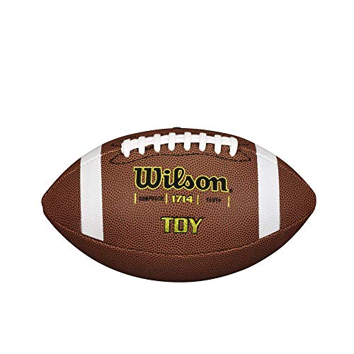 Wilson TDS Traditional Composite American Football, Braun, Jugendliche