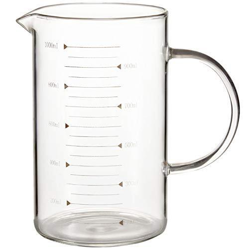 1000Ml hogar espesado para hornear leche taza de medición con grabado taza de medición YXF99
