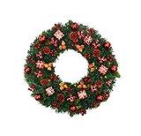 Yjmgrowing Guirnalda Decorada Guirnaldas de Navidad Decoraciones para escaleras Chimeneas...