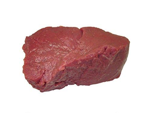 beef eye of round steaks TenderBison (Filet Mignon) Tenderloin Steak 6 oz. USDA Inspected (Case of 26) Made with North American Buffalo.