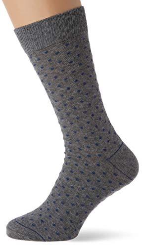 Springfield Ind Topos-c/44 Calcetines, Gris (Dark_Grey 44), One Size (Tamaño del fabricante: U) para Hombre