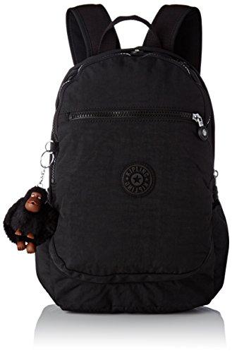 Kipling Unisex-Erwachsene CLAS Challenger Rucksack, Schwarz (True Black), 15x24x36 Centimeters