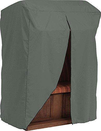 Unbekannt Étoile Coque pour Meubles de Jardin, Plage Panier, Gris uni, 125 x 115 x 160 cm, 2,3 ML, 454806