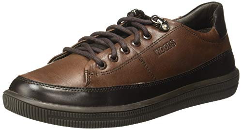 Woodland Men's BROWNLeather Casual Shoes-8 UK/India (42 EU) -(GC 2762118)