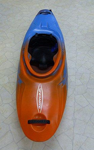 Tahe Marine Supersonic PE Kinderkajak Creeker Wildwasserkajak orange/blau, Farbe:Blau-Orange